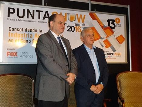 Punta Show 16 D1 Antel y Cuta firman acuerdos