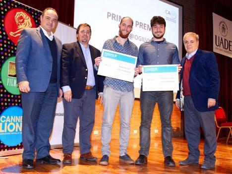 Javier Suez, Sebastián Civit, Roberto de León, Andrés Goldenberg y Horacio Caffieri