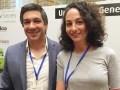 Cristian Cores, director de Negocios para Medios y Entretenimiento, Facebook Argentina, y Julieta Shama, gerente de Alianzas Estratégicas de Medios, F