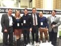 """Carlos Hulett, CEO de VIVOPlay (centro) durante el Panel """"Estrategias OTT y VOD por Suscripción en Latinoamérica en NexTV South America 2016"""