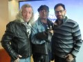 Diego Capusotto y Pedro Saborido junto a Mariano César, VP & Channel Manager de TNT