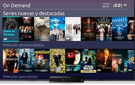 Izzi TV nueva aplicación