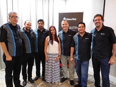 Newtek capacitación Miami jul16 equipo