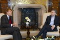 Turner Whit Richardson con el presidente argentino Mauricio Macri