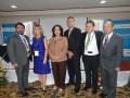 Edwin Estrada, viceministro Micitt, Luz Marina Arango, Saray Amador, de Canartel, el ministro Marcelo Jenkins, Gabriel Levy y Juan García Bish
