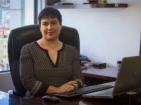 Alexandra Álava Freire, ministra de Telecomunicaciones y de la Sociedad de la Información de Ecuador