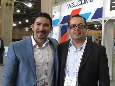 SCTE 16 D1 Miguel Condado de Megacable México y Edgar Alcántara de Technicolor