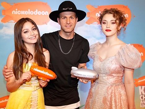 Nickelodeon KCA 16 Arg Karol Sevilla, Axel y Minerva Casero