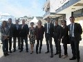 Laurine Giraud, director of TV division, with the team of Reed Midem during the Wrap Up press conference: 'This has been an excellent Mipcom', it was