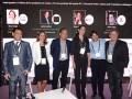 NexTV Ceos 16 D1 Ariel Barlaro, de Dataxis, María Iregui, Carlos Sanchez, Diana Figueroa, Damián Romay y Peter López