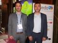 Jerónimo Macanás, VP Sur de Europa y Latinoamérica de Accedo, y Javier Bacharachas, ingeniero de preventas