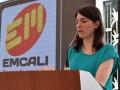 Cristina Arango, gerente general de Emcali