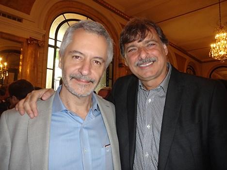 ESPN UpFront 17 Martín Osorio, CEO de IPG Mediabrands Chile, y Guillermo Tafet, ex gerente de Starcom Buenos Aires