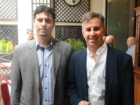 ESPN UpFront 17 Marcelo Juárez, gerente de Programación en Supercanal, y Alejo Smirnoff, director de Prensario