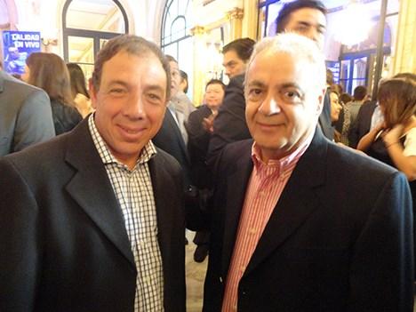 ESPN UpFront 17 Daniel Santuccio, CEO de PHD Argentina, y Horacio Caffieri, director ejecutivo de la CAAM