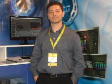 Jorge Collazo, socio gerente de OpterTek, en Caper 2016