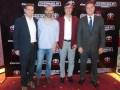 Fabián Basteguieta, gerente general de Dentsu; Mauro Caputti, director de cuentas de Mec; Nicolás Mc Cormack, VP de ventas publicitarias de Discovery;