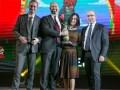 """Laurence Robinet recibió el Premio Eutelsat de la TV 2016, otorgado a Fix&Foxi en la categoría """"Chicos"""""""