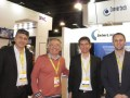 Alberto Vandenbossch, Raúl Malisani, Eduardo Malisani y Emiliano Bonansea, de InterLink, en Caper