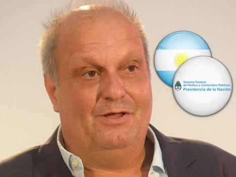 Hernán Lombardi, ministro, Sistema Federal de Medios y Contenidos Públicos de Argentina