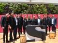 Malevo junto al equipo de HBO, distribuidor de Sony Entertainment Television en Latinoamérica, liderado por Javier Figueras