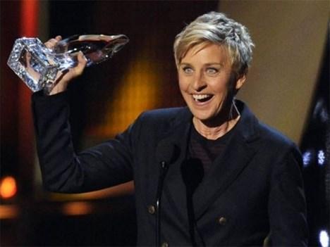 Con tres nominaciones, Ellen DeGeneres está apunto de convertirse en la máxima ganadora de la historia de los PCA, si sólo gana una de ellas