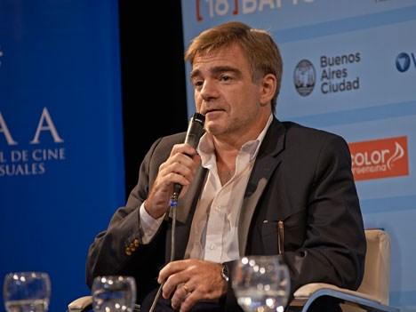 Alejandro Cacetta, presidente del INCAA