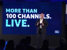 Enrique Rodríguez, CTO de DirecTV Now, en la presentación de la plataforma de AT&T que es el paradigma de lo que está ocurriendo con los operadores de