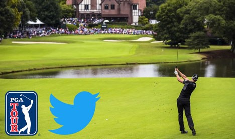 Twitter y PGA Tour