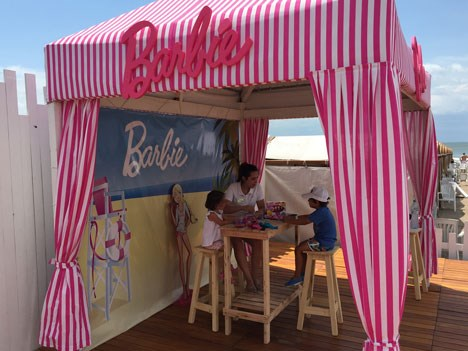 Barbie Beach by Costa Galana Beach Life