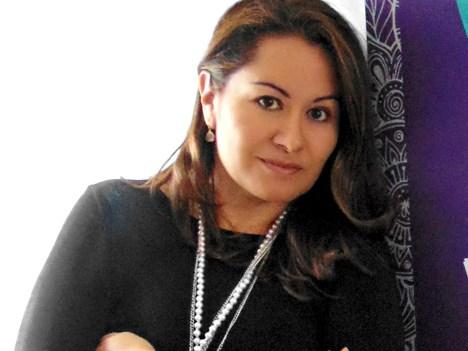Ximena Duque, gerente general de Exim Colombia, agencia participante y que 'tomó el liderazgo de organizar la promoción del evento', según explicó la