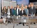 Visita de productoras británicas a TV Azteca