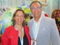 Begoña Esteban Montero, TV sales manager, y Sergi Reigt, CEO, Imira Entertainment
