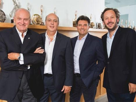 Ogilvy Marcos Golfari (presidente), Germán Yunes, Horacio Genolet y Leandro Berrone