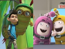 Insectibles y Oddbods, de One Animation y distribuidas por Bomanbridge Media