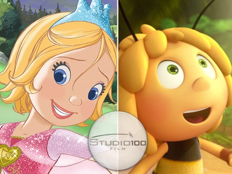 Princess Emmy - The Movie y Maya the Bee, films de Studio 100 (Alemania)