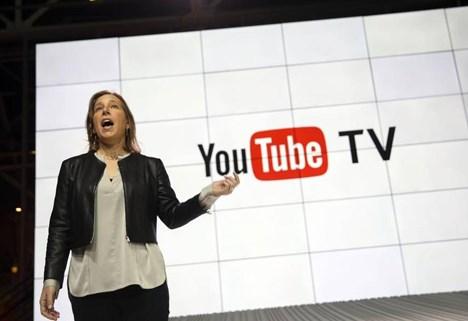 Susan Wojcicki, directora ejecutiva de YouTube (PH: Patrick Fallon, Bloomberg)