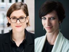 Anne Hufnagel, General Manager of Autentic Distribution, and Silvia Fleck, head of NZZ Format's editorial department