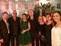 Heidi en lanzamiento especial en Buenos Aires: Matteo Corradi, Mondo TV; Pierluigi Gazzolo, VIMN; Marcela Citterio y Javier Francia, Alianza Producciones, Tatiana Rodriguez, Maria Bonaria Fois, Mondo TV, y Paula Guerra, VIMN