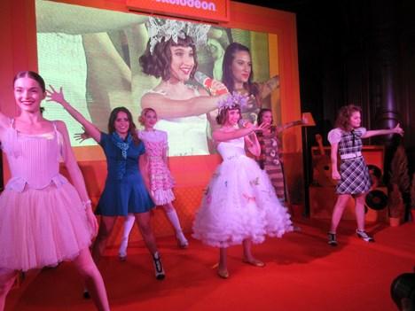 El lanzamiento de Heidi contó con un show en vivo de sus protagonistas, encabezado por Chiara Francia