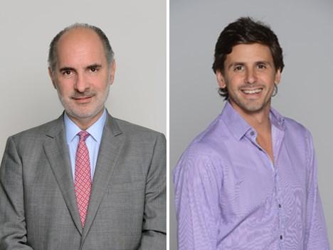 Nueva estrucutra de VIMN Americas/Telefe: Guillermo Campanini, COO, y Darío Turovelzky, director de contenidos globales