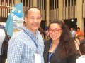 Olympusat Jesús Piñango y Courtney Huber, Head of Content Distribution
