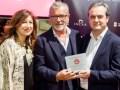 Gemma del Corral, Rómulo Pullol y Juan Antonio Vigar