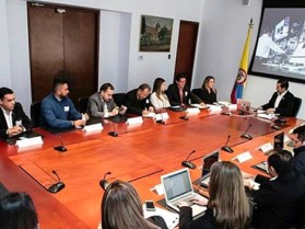 Reunión de Asotic con el Ministro TIC, David Luna Sánchez