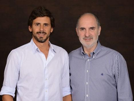 Telefe Darío Turovelsky y Guillermo Campanini