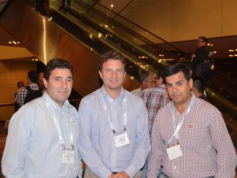 Alejandro Arriola y Carlos Leonardo Saftih Esparrago, de Telefónica