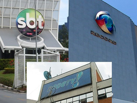 SBT, Record y RedeTV mar17