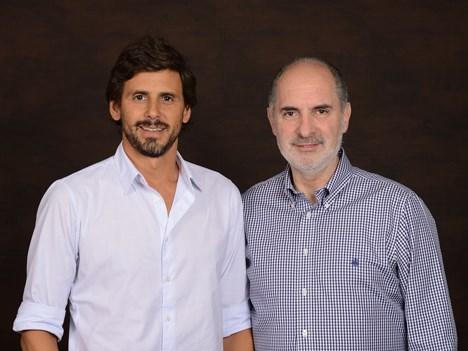 Darío Turovelzky, director de contenidos globales, y Guillermo Campanini, director general de operaciones, Telefe-Viacom