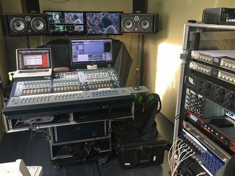 Móvil Matrix. Venue SC48. Pro Tools. Outboards