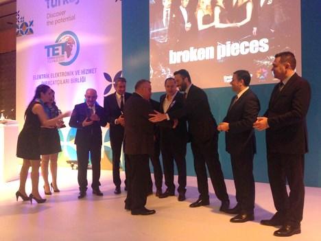 """Global Agency recibió el premio como """"Mejor Exportadora Turca"""" de 2016"""